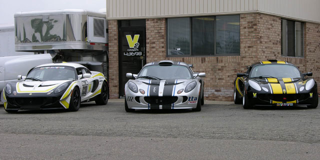 V2 Motorsports T2 Prepped Lotus Exiges